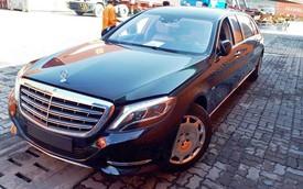 Limousine triệu đô Mercedes-Maybach S600 Pullman thứ 2 về Việt Nam