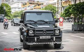 Hàng hiếm Mercedes-Benz G55 AMG biển tứ quý 8 xuất hiện tại Sài Gòn với diện mạo lạ