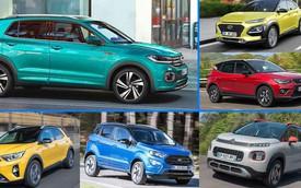 10 dòng SUV cỡ nhỏ cạnh tranh cùng Volkswagen T-Cross vừa ra mắt