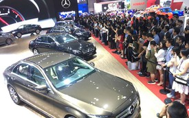 'Ông lớn' mạnh tay chi cho triển lãm ô tô VMS