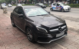 SUV hiệu suất cao Mercedes-AMG GLA 45 bản độ khấu hao cả tỷ đồng sau 2 năm sử dụng