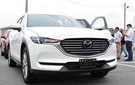 Đại lý nhận đặt cọc Mazda CX-8, giá tạm tính từ 1,15 tỷ đồng, đe doạ Hyundai Santa Fe