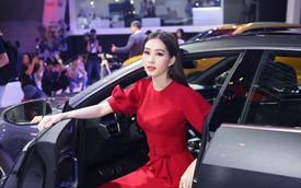 Dàn sao hạng A sánh bước bên xe sang Audi tại VMS 2018