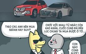 Xe VinFast trở thành cảm hứng chế ảnh, spotlight trên mạng xã hội