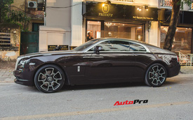 """Rolls-Royce Wraith từng mang phong cách """"gấu trúc"""" nổi tiếng Hà thành tiếp tục thay đổi diện mạo"""