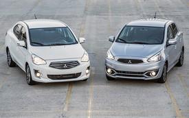 Mitsubishi Mirage và Attrage 2018 hạ giá rẻ nhất hạng B, cạnh tranh cả Toyota Wigo