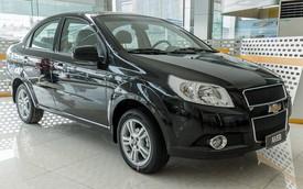 Chevrolet Spark và Aveo giảm giá sốc trước ngưỡng cửa khai tử tại Việt Nam