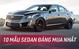 Nhiều sedan bán kém tại Việt Nam nhưng được đánh giá tốt nhất tại Mỹ