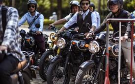 """500 """"quý ông, quý bà"""" biker cùng 400 mô tô khuấy động Hà Nội"""