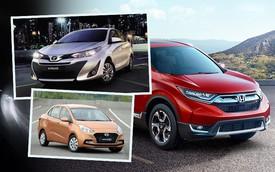10 xe bán chạy nhất tháng 9/2018: Toyota Vios bỏ xa Hyundai Grand i10, Honda CR-V vượt Mazda CX-5