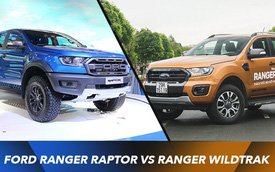 Chênh hơn 400 triệu đồng, lăn bánh Ford Ranger Raptor hay dành tiền mua Wildtrak mới rồi thêm xe con cho vợ?