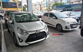 Toyota Wigo bán vượt Hyundai Grand i10 - Tân binh vươn thành vua phân khúc và lời đe doạ từ xe Nhật tới xe Hàn
