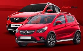 """Đoán trang bị trên xe nhỏ giá rẻ VinFast Fadil khi nhìn từ cặp """"song sinh"""" Chevrolet Spark, Opel Karl"""