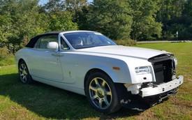 Rolls-Royce chạy chưa được 300km đã nát đầu, chủ xe bán tháo với giá chưa đến 1/6 ban đầu
