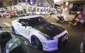Nissan GT-R độ widebody duy nhất Việt Nam cùng hàng loạt siêu xe khủng náo động Sài Gòn