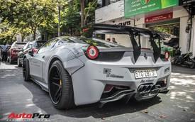 """""""Chán"""" phong cách dị, Ferrari 458 Italia độ Liberty Walk trở về nguyên bản"""