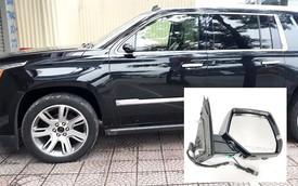 """Đại gia đi Cadillac Escalade bạc tỷ bị vặt gương tại Hà Nội, quyết tâm mua gương mới chứ không tiếp tay cho đồ """"luộc"""""""