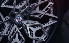Mâm xe titanium in 3D đầu tiên trên thế giới xuất hiện