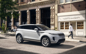 Ra mắt Range Rover Evoque 2019: Dáng dấp Velar