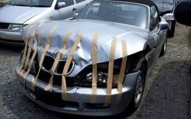"""Dùng băng dính để chữa ô tô - Tưởng không được mà """"được không tưởng""""!"""