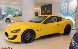 Chi tiết Maserati GranTurismo Sport màu vàng giá 12 tỷ đồng vừa về Việt Nam
