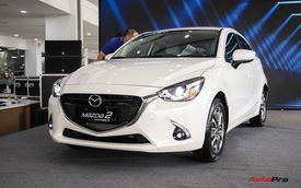 Mazda2 âm thầm tăng giá sau khi Toyota Vios hạ giá mạnh