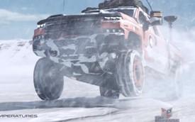 """""""Quái vật bán tải"""" Chevrolet Silverado ZH2 thách thức mọi địa hình"""