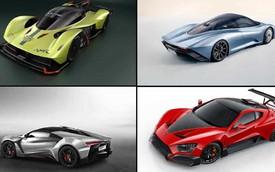 Giảm 1kg đắt hơn thêm 1 công suất: 10 dòng xe xuất sắc với khung thân thuần sợi carbon