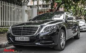 Đại gia Sài Gòn sắm Mercedes-Benz S400 biển 688.88 sánh đôi với Lamborghini Huracan 688.88 từng của Cường Đô-la