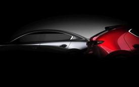 Bộ đôi Mazda3 2019 lộ diện trước ngày ra mắt