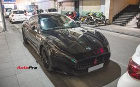 Maserati GranTurismo MC Sportline phiên bản Batman của dân chơi Hà Thành