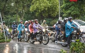 Bất chấp mưa rét, hàng chục biker diễu hành khuấy động Hà Nội dịp cuối tuần
