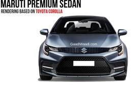 Chuẩn bị có sedan Suzuki sử dụng khung gầm Toyota Corolla Altis
