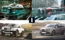Rolls-Royce qua 9 thiết kế bất khả thi: bán tải, xe tải hạng nặng hay thậm chí hatchback cỡ nhỏ