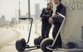 """Mẫu xe điện độc nhất vô nhị: Lốp to như lốp xe hơi, chở được tới 2 người vẫn """"phi"""" với tốc độ 40 km/h"""