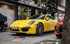 """Porsche 911 Carrera sánh đôi """"đũa lệch"""" với Kia Morning ngũ quý 7 khét tiếng của đại gia Hà Nội"""