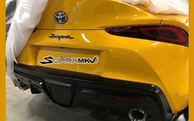 Toyota Supra lộ đuôi xe hoàn thiện trong quá trình vận chuyển