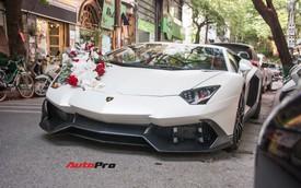 Đám cưới khủng tại Hà Nội: 3 xe Rolls-Royce, 2 siêu xe Lamborghini và Maybach hàng hiếm rước dâu
