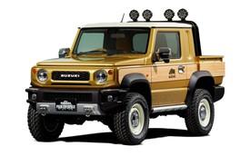"""Hàng hot Suzuki Jimny - """"tiểu G-Class"""" có thêm phiên bản bán tải"""