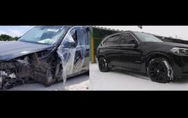 7 ngày cứu BMW X5 từ bờ vực cái chết về lại như mới