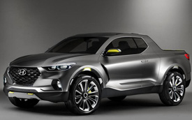 Hyundai bất ngờ tiết lộ thông tin về mẫu bán tải đối đầu Ford Ranger