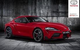Toyota Supra bất ngờ lộ ảnh hoàn chỉnh đầu tiên