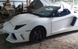 Fan cuồng lột xác chiếc xe cũ kỹ thành Lamborghini Aventador Roadster, rao bán với giá ngang Honda Civic