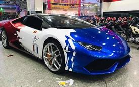 """Đại gia Bình Dương gây bất ngờ với Lamborghini Huracan màu như siêu xe của Minh """"nhựa"""""""
