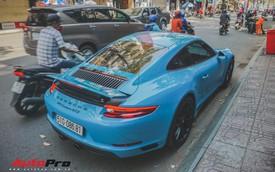Porsche 911 Carrera GTS màu xanh dương độc đáo của dân chơi Sài Thành