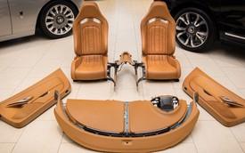 Bộ nội thất Bugatti Veyron 10 năm tuổi này có giá đắt ngang nhiều siêu xe có tiếng