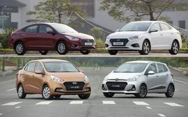 Hyundai Grand i10 thất thế, Accent vươn lên mạnh mẽ - Trật tự mới đối trọng với Toyota Wigo, Vios