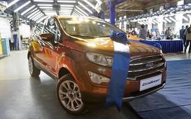 Ford EcoSport 2018 chính thức ra mắt khách hàng Việt