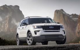 Hé lộ Ford Explorer 2020: Dẫn động cầu sau với động cơ mạnh mẽ hơn