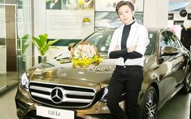 Ca sĩ Gil Lê tậu xe sang Mercedes-Benz E300 AMG ngay trước Tết Nguyên Đán